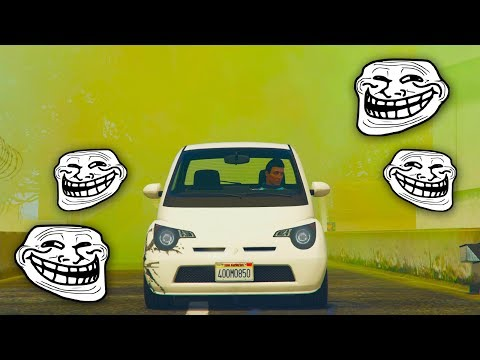 NO VEO!! HUMO TROLL!! - CARRERA GTA V ONLINE - GTA 5 ONLINE
