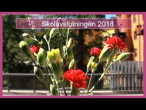 Skolavslutningen 2018 Runö folkhögskola