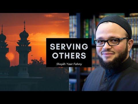 Serving Others ┇Shaikh Yaser Fahmy Khutbah + Beautiful Quran recitation