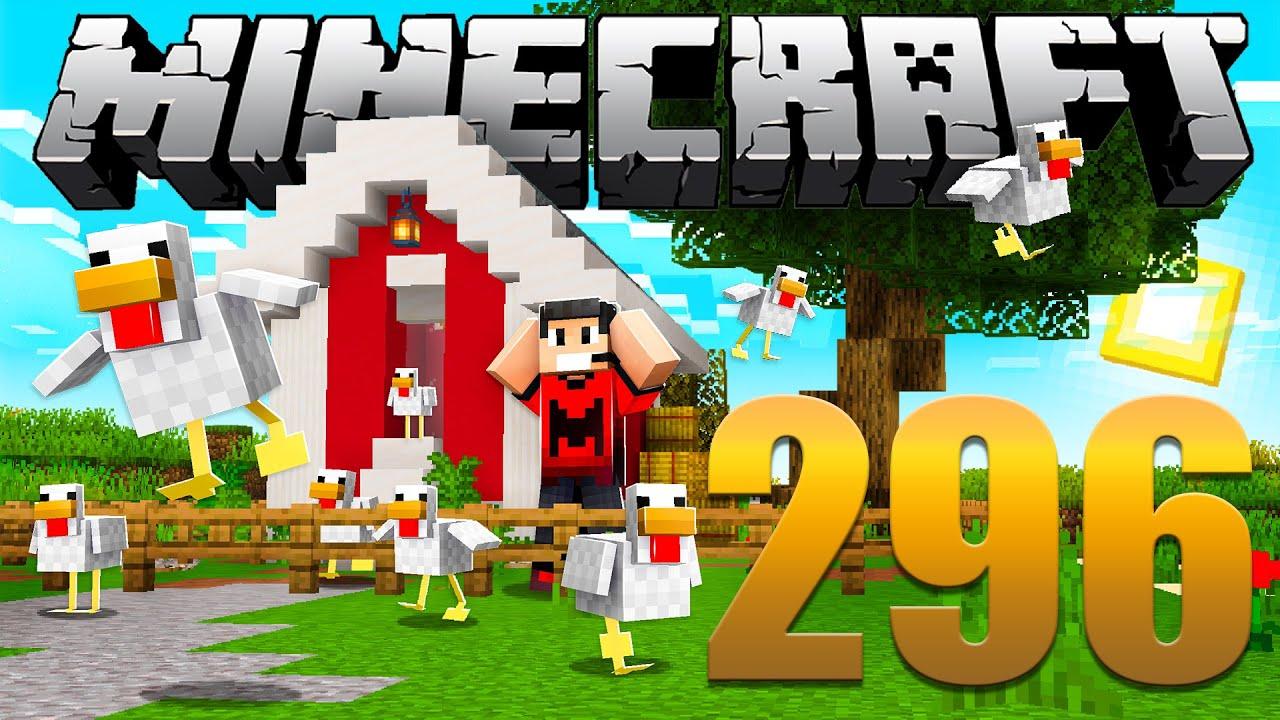 A Fuga das Galinhas - Minecraft Em busca da casa automática #296