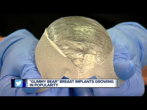 So-called 'Gummy Bear' Implants Growing In Popularity For Breast Augmentations