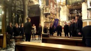 Schola Cantorum, mješoviti vokalni ansambl Umjetničke akademije Split - Gloria Patri