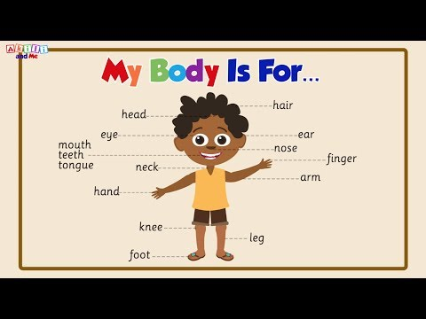 "African Educational Story Book - ""My Body Is For"" from Akili and Me"