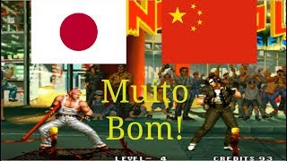 KoF 95 - Daisuke (Japan) vs Zedong (China) suparc emulator
