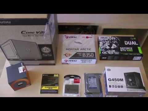Thermaltake Core V21 + Ryzen 5 1600 + GTX1060 6GB 1000€ Build Iš Varle.lt Išpakavimas