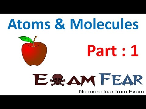 Chemistry Atoms & Molecules part 1 (Introduction, History) CBSE class 9 IX