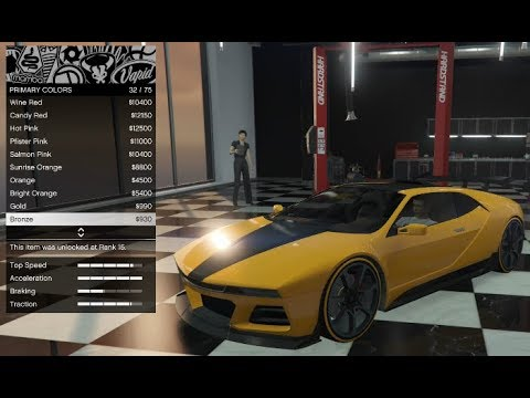 GTA 5 -  DLC Vehicle Customization (NEW SUPER CAR!!) Ubermacht SC1