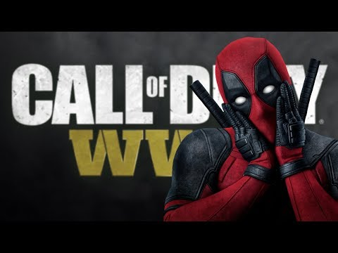 DEADPOOL VOICE TROLLING ON COD WW2