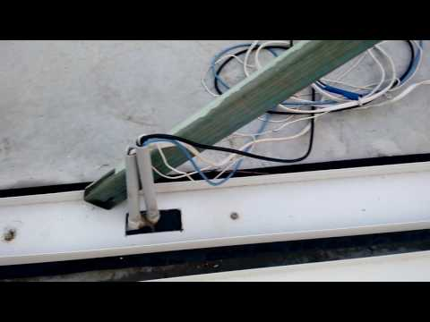 Cable placement and drilling Power  cable channels