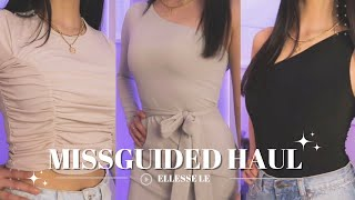 MISSGUIDED TRY-ON HAUL 2020 the BEST everyday basics