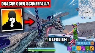 *OMG* Secret Dragon CHAINS ⛓️ Snowfall Skin? 😱 | Fortnite Season 7 English