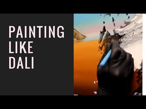 Painting like Salvador Dali