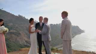 Palos Verdes California Marriage Officiant for Small Weddings
