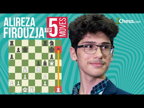 Alireza Firouzja's 5 Most Brilliant Chess Moves