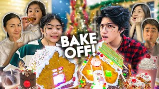 Who Can MAKE The BEST Christmas DESSERT?! (Siblings Bake Off!!) | Ranz and Niana
