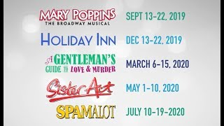 City Springs Theatre Company's 2019-20 Season of Musicals
