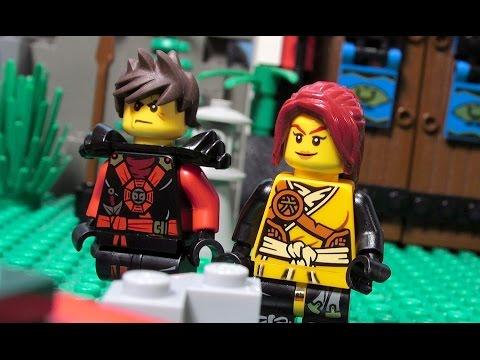 LEGO Ninjago Curse of Morro EPISODE 10 - Ghosts vs Elements!
