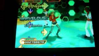 DDR Hottest Party 2 Walking on Sunshine PFC AAA with hands and gimmicks ON!