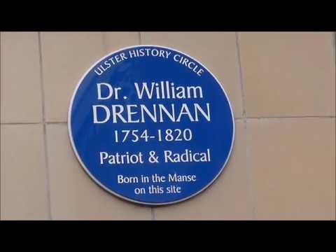 William Drennan Presbyterian, Physician, United Irishman, Poet.