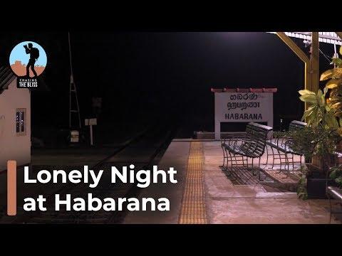 A Lonely Night at Habarana Railway Station, Night Train Experience in  Sri Lanka