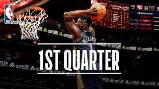 Zion Williamson's First Quarter Preseason Debut