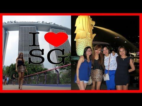I ❤ SG : Exploring Tourist Spots in Singapore!