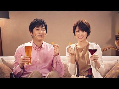 博多大吉と吉瀬美智子、夫婦役で初共演 生チーズのCheeza・新テレビCM「チーザなひととき」編