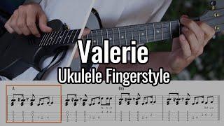 Amy Winehouse - Valerie (Ukulele Fingerstyle / Chord Melody)