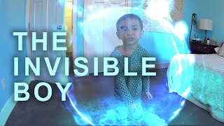 Kids with Superpowers, The Invisible Boy, Fantastic Four Year Old, Kids Movie Magic Visual Effects