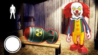 КЛОУН ПЕННИВАЙЗ СОЗДАЛ ЯДЕРНУЮ БОМБУ СОСЕД ГРЕННИ - Clown Neighbor 2 Granny Escape
