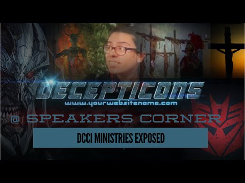 DECEPTICONS GETS EXPOSED  @ SPEAKERS CORNER