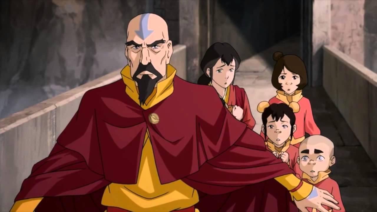 ATLA Korra Aangs Family
