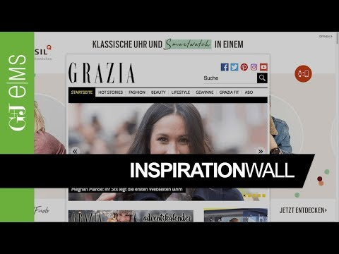 Inspiration Wall | Fossil Q | Rich Media Ad Special | G+J e|MS