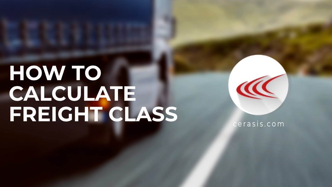 Calculate Freight Class   How To Guide & Freight Density Calculator