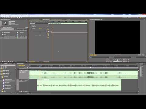 Premiere Pro - Using keyframes to control audio volume