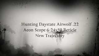Daystate AirWolf .22 cal Aeon Scope