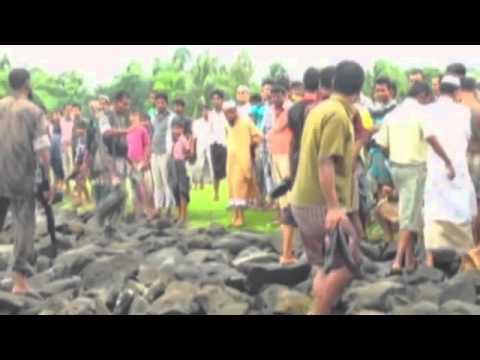 Rohingya refugees leave Burma to seek help in Bangladesh