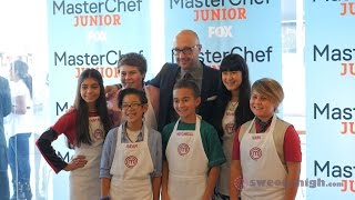 FOX MasterChef Junior Cast Decorates Cakes With Sweety High! Thumbnail