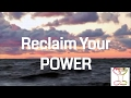 Guided Mindfulness Meditation l Reclaiming Your Power - Unstoppable Positive Energy *10 Minutes
