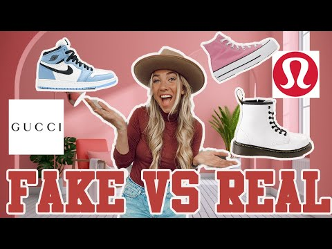 How to SAVE MONEY buying HUGE BRANDS!!!! FAKE vs REAL!!!!
