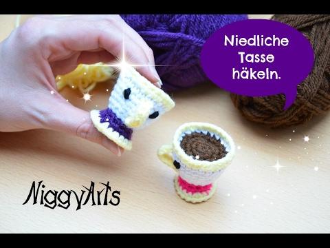 Niggyarts Niedliche Kleine Tasse Häkeln Youtube