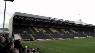 """i Had A Wheelbarrow"" Notts County-port Vale 4-2"