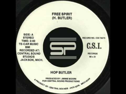 RARE JAZZ FUNK 45t - HOP BUTLER - Free Spirit - 1976 CSI