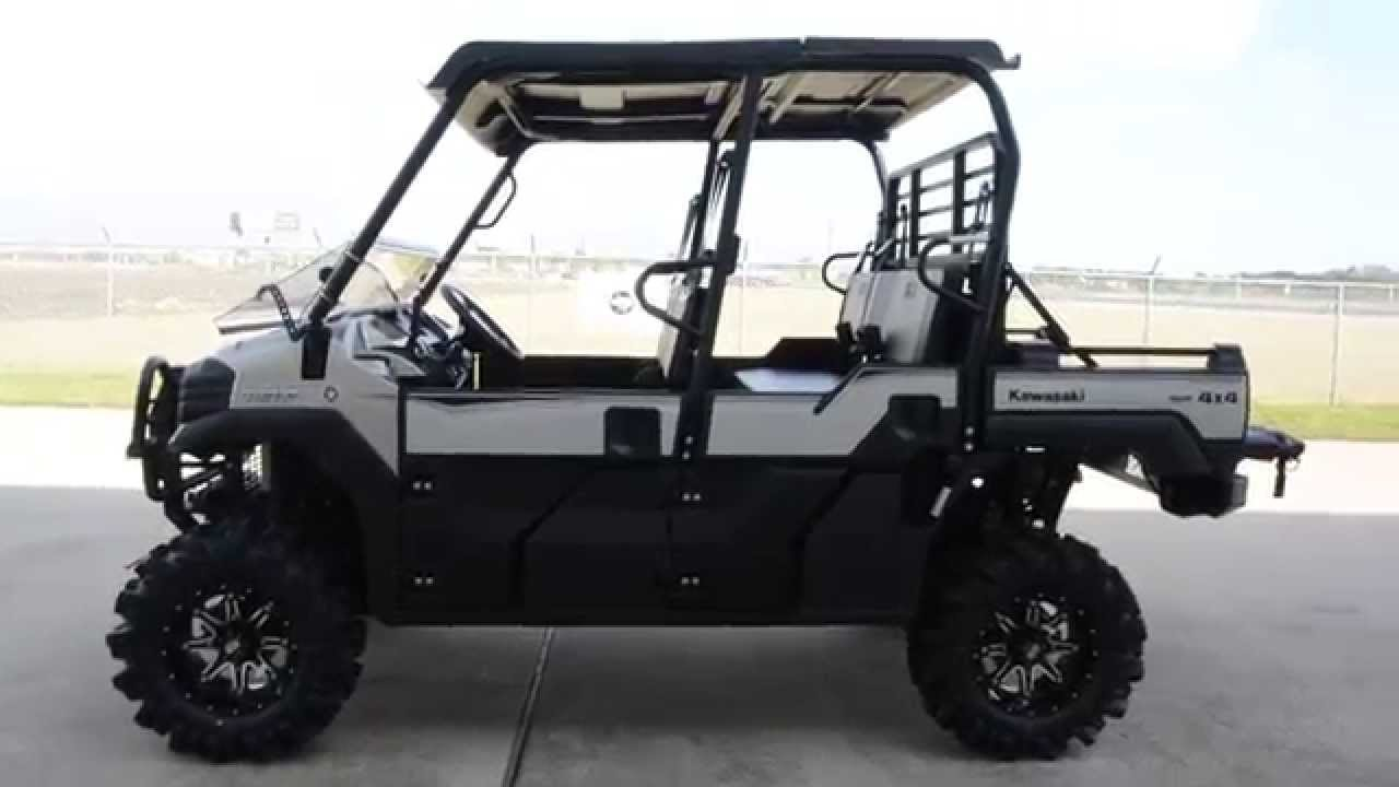 17599 2016 Kawasaki Mule Pro Fxt Ranch Edition With Lift Bumpers And Wheel And Tire Upgrade