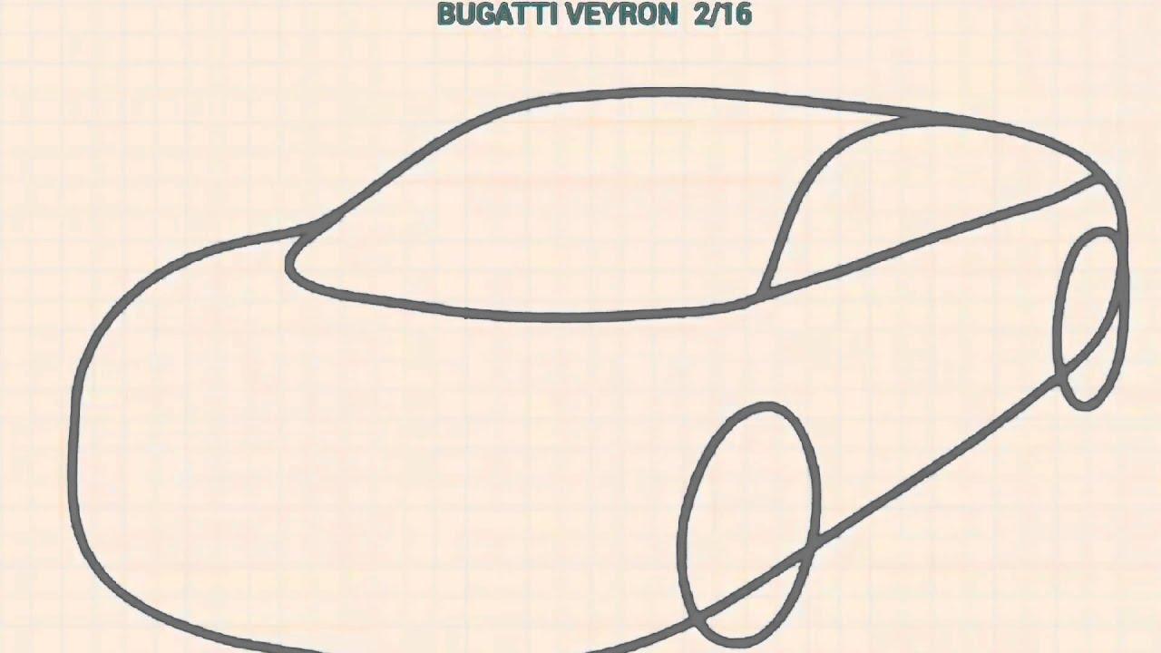 Bugatti Veyron çizimi Youtube