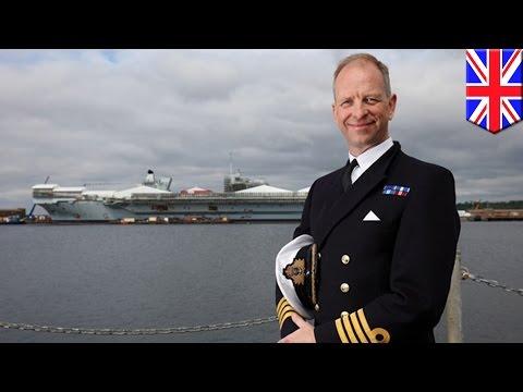 HMS Queen Elizabeth: Captain takes control of UK