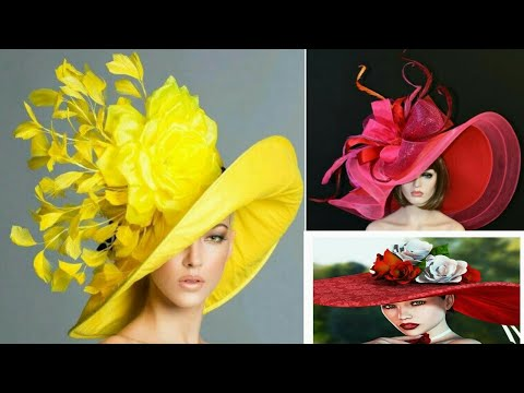 Most Famous Derby Hats Collection 2021 New Ladies Kentucky Derby Hats, hat Designs For Women's 2021