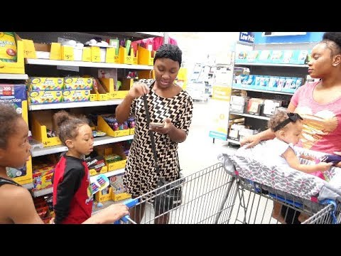 FAMILY GOES BACK TO SCHOOL SHOPPING!! | 2017
