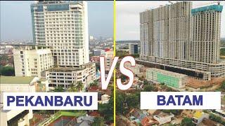 Kota Batam VS Kota Pekanbaru, Kota Terbesar di Provinsi Riau dan Kepulauan Riau