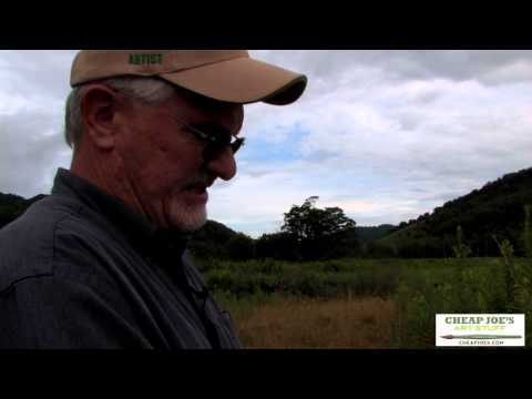 Plein Air Painting With Frank Francese - Setting Up- Materials (Part1)